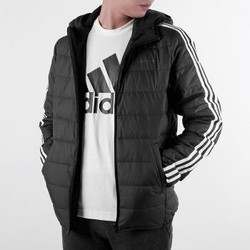 Adidas阿迪达斯NEO羽绒服男2020冬季新款运动休闲轻薄保暖外套GJ8784 GJ8784/黑色 170/88A/XS
