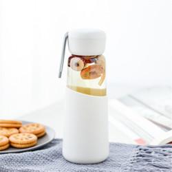 韩版水杯杯子茶杯玻璃杯便携随手杯女学生韩版清新简约