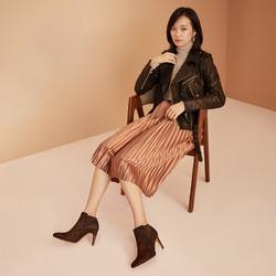 clarks其乐女鞋优雅细高跟时尚舒适短靴踝靴切尔西靴