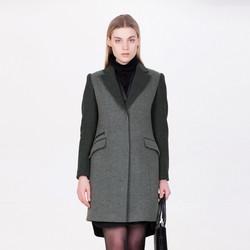 舒朗羊毛保暖时尚气质百搭女式毛呢大衣外套