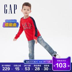 预售Gap男幼童抓绒保暖针织衫593025秋冬2020新款童装儿童毛衣