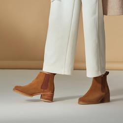 clarks其乐女鞋英伦复古切尔西靴女短靴舒适休闲踝靴