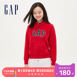 Gap女装LOGO抓绒运动卫衣秋冬644828 E 2020新款女士时尚保暖上衣
