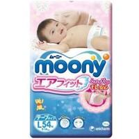 moony 尤妮佳 畅透系列 婴儿纸尿裤 L 54片 *4件