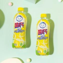 酷氏 白猫柠檬无糖苏打水气泡水 480ml*6瓶