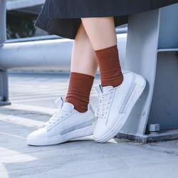 态极情侣小白鞋一尘低帮板鞋运动鞋女鞋轻便时尚滑板鞋平底休闲鞋
