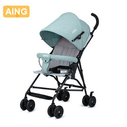 爱音婴儿推车轻便折叠避震伞车可坐便携手推宝宝儿童推车 *9件