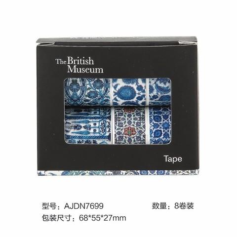 M&G 晨光 AJDN7699 大英博物馆 和纸胶带 8卷装