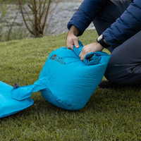 牧高笛(MOBIGARDEN) 超轻户外帐篷充气袋便携露营TPU气垫床耐磨防水轻量充气袋天空蓝