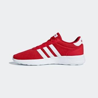 adidas NEO Lite Racer 中性休闲运动鞋 B43736 红色 39
