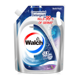 Walch 威露士 家用袋装薰衣草洗衣液 2L