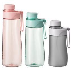 仝器 便携塑料水杯 400ml 多色可选