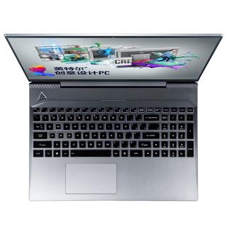 ThundeRobot 雷神 911Master 2 豪华版 15.6英寸 笔记本电脑 (银色、酷睿i7-10750H、8GB、512GB SSD、GTX 1650Ti 8G)