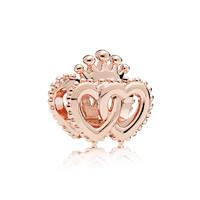 Pandora 潘多拉 787670 玫瑰金色贵族连心串饰 *2件