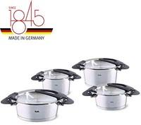 Fissler 菲仕乐 Intensa系列 不锈钢锅具4件套,带盖