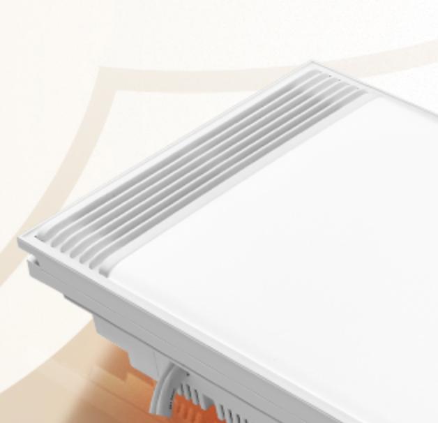 BULL 公牛 MY-B2K4060C-AD 嵌入式风暖浴霸 30*60cm 白色 2400W