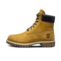 Timberland 添柏岚 男士高帮系带耐磨防滑防水靴6717B 小麦色40