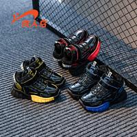 贵人鸟男童棉鞋2019冬季新款女童儿童鞋子秋冬加绒加厚保暖运动鞋