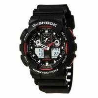 银联爆品日:CASIO 卡西欧 G-Shock GA100-1A4 男士运动腕表