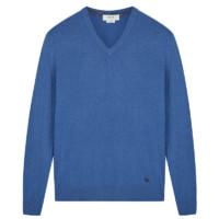 鄂尔多斯ERDOS 秋冬纯山羊绒V领百搭针织时尚毛衣男士羊绒衫