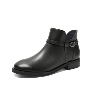 Teenmix 天美意 Teenmix 天美 AV321DD9 女士短靴拉链皮靴