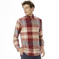 GANT 甘特 3080020 男格纹长袖衬衫
