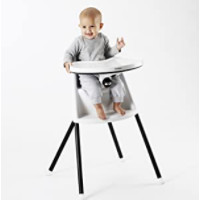 BABYBJORN 067055US 婴儿折叠高脚椅 白色