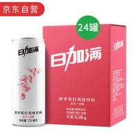 日加满 欧李苏打风味无糖饮料 250ml*24罐