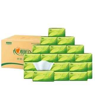 心相印抽纸 面巾纸 茶语系列 软抽3层130抽*24包(小规格) *4件