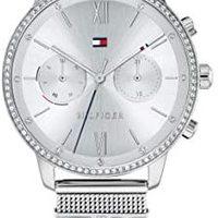 Tommy Hilfiger 汤米·希尔费格 女式模拟石英手表不锈钢表带 1782301