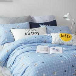 LOVO 乐蜗家纺 非凡主义 全棉床上四件套 1.8m床