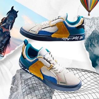 双11预售 : LI-NING 李宁 AGCQ309 男士低帮运动鞋