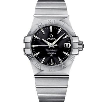 历史低价:OMEGA 欧米茄 星座系列 123.10.35.20.01.001 男士机械腕表