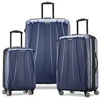 Samsonite 新秀丽 Centric 2 硬壳可扩展行李箱 带万向轮 深蓝色3件套