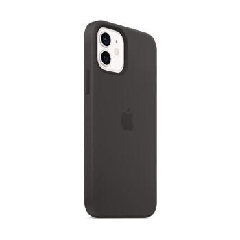 Apple iPhone 12 | 12 Pro 专用原装Magsafe硅胶手机壳 保护壳 - 黑色