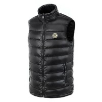 国际米兰俱乐部Inter Milan官方新品户外羽绒服运动跑步健身马甲男女短款轻薄防风保暖立领背心外套