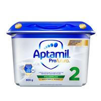 Aptamil  爱他美 白金版HMO 安心罐 婴幼儿配方奶粉 2段800g *4件