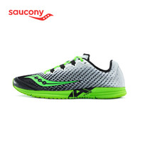 Saucony索康尼2020年 新品TYPE A9男子比赛竞速跑鞋 轻量路感马拉松跑鞋 S29065 白绿-2 40.5