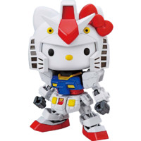 BANDAI 万代 SDEX Hello Kitty/RX-78-2 高达 拼装模型