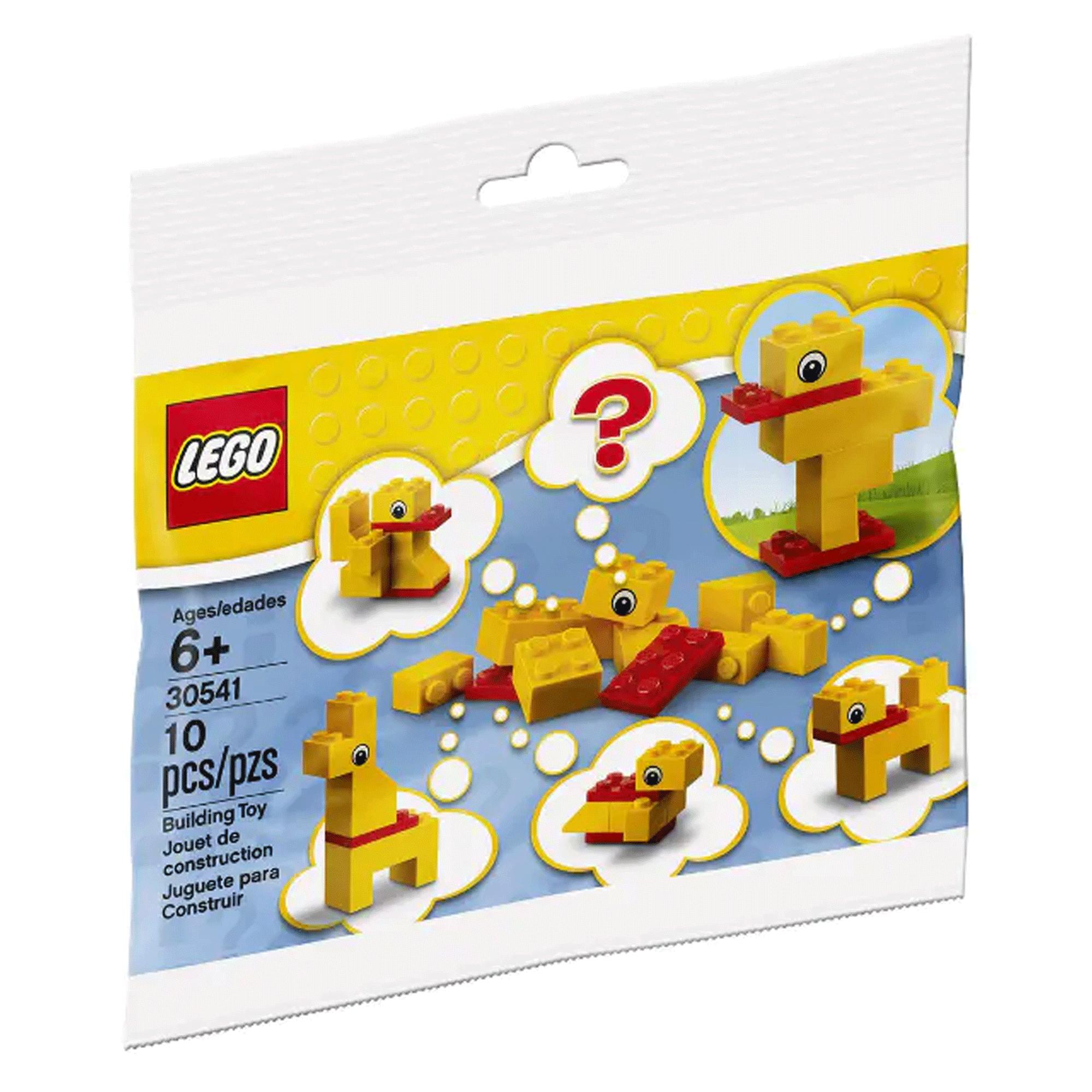 LEGO 乐高 拼砌包 30541 动物自由拼