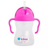 b.box 贝博士 儿童重力吸管杯  240ml 玫红色 *2件 +凑单品