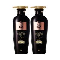 【双11预售】Ryo吕韩国进口黑吕莹韧滋养固发洗发中干性洗发露400ml*2瓶