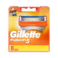 【双11预售】Gillette/吉列 锋隐5剃须刀头 5层刀片 8只装 不含刀架