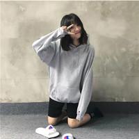 champion  S700LW 男女秋冬穿搭情侣帽衫