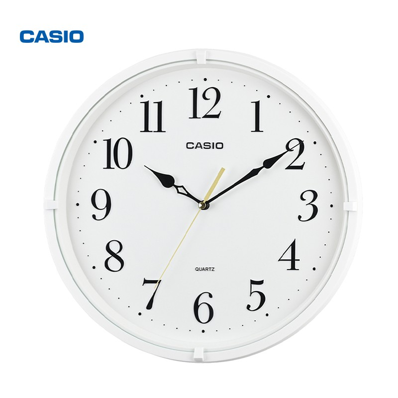 CASIO 卡西欧 IQ-88-7PF 家用时尚现代北欧卧室石英钟表