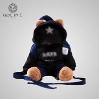 GOC IN C 智能背包熊热水袋潮牌防爆暖手宝充电电暖宝