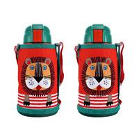 双11预售、88VIP : Tiger 虎牌 MBR-S06G 儿童保温杯600ml*2只装