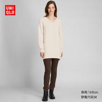 UNIQLO 优衣库 420517 女装V领针织长衫
