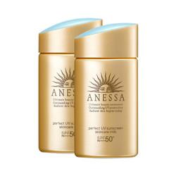 ANESSA 安热沙 金瓶防晒霜 60ml 2020年版*2瓶装