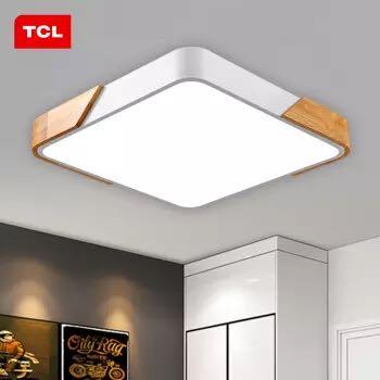 TCL 相知 北欧实木LED吸顶灯 36W 420*60mm